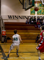 1137 Boys JV Basketball v Crosspoint 122115