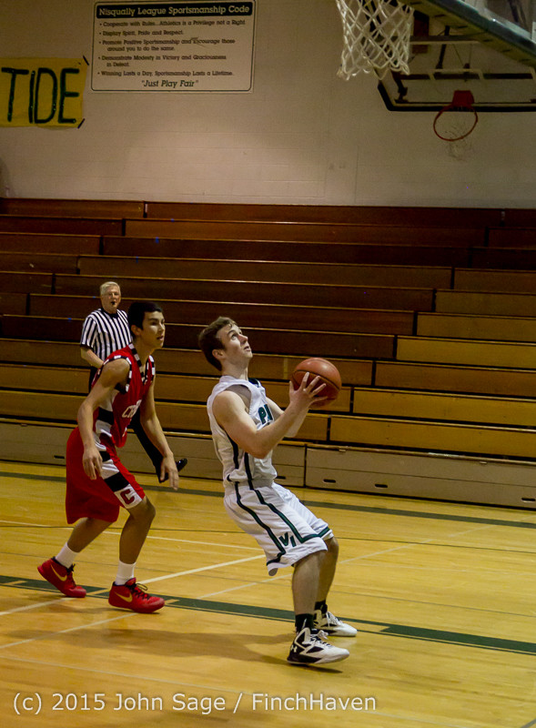 1148 Boys JV Basketball v Crosspoint 122115
