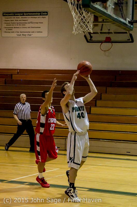 1150 Boys JV Basketball v Crosspoint 122115