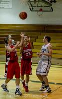 1157 Boys JV Basketball v Crosspoint 122115