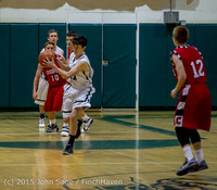 1178 Boys JV Basketball v Crosspoint 122115