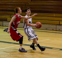 1182 Boys JV Basketball v Crosspoint 122115