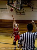 1186 Boys JV Basketball v Crosspoint 122115