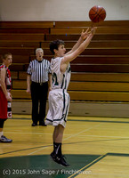 1200 Boys JV Basketball v Crosspoint 122115