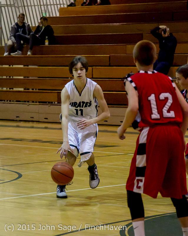 1212 Boys JV Basketball v Crosspoint 122115