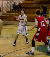 1215 Boys JV Basketball v Crosspoint 122115