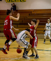 1220 Boys JV Basketball v Crosspoint 122115