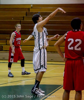 1252 Boys JV Basketball v Crosspoint 122115