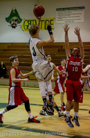 1264 Boys JV Basketball v Crosspoint 122115