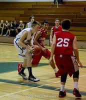 1283 Boys JV Basketball v Crosspoint 122115
