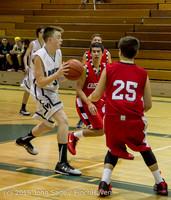 1284 Boys JV Basketball v Crosspoint 122115