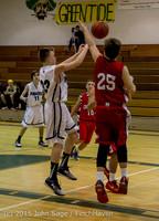 1286 Boys JV Basketball v Crosspoint 122115