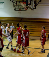 1302 Boys JV Basketball v Crosspoint 122115