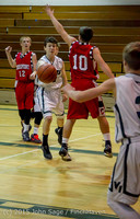 1350 Boys JV Basketball v Crosspoint 122115
