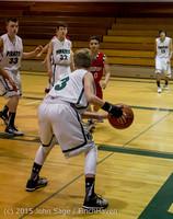 1355 Boys JV Basketball v Crosspoint 122115