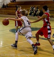 1362 Boys JV Basketball v Crosspoint 122115