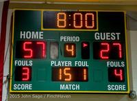1392 Boys JV Basketball v Crosspoint 122115