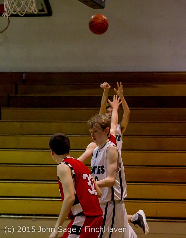 1404 Boys JV Basketball v Crosspoint 122115
