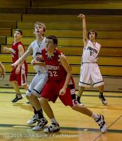 1409 Boys JV Basketball v Crosspoint 122115