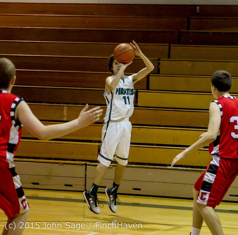 1430 Boys JV Basketball v Crosspoint 122115
