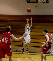 1431 Boys JV Basketball v Crosspoint 122115