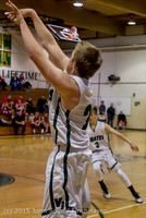 1475 Boys JV Basketball v Crosspoint 122115