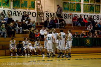 1497 Boys JV Basketball v Crosspoint 122115