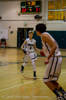 1499 Boys JV Basketball v Crosspoint 122115
