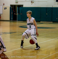 1503 Boys JV Basketball v Crosspoint 122115