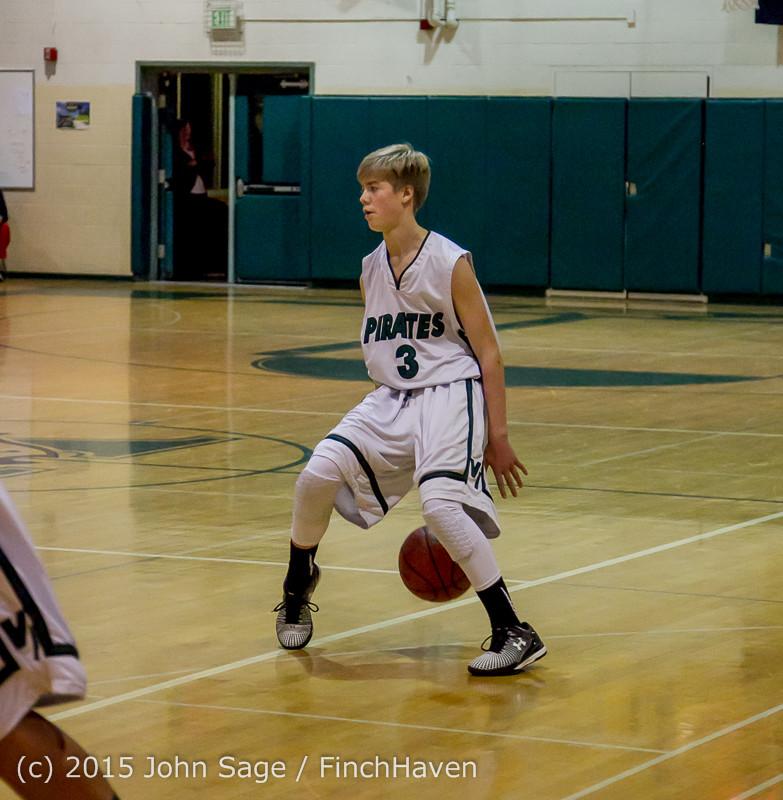 1503 Boys JV Basketball v Crosspoint 122115
