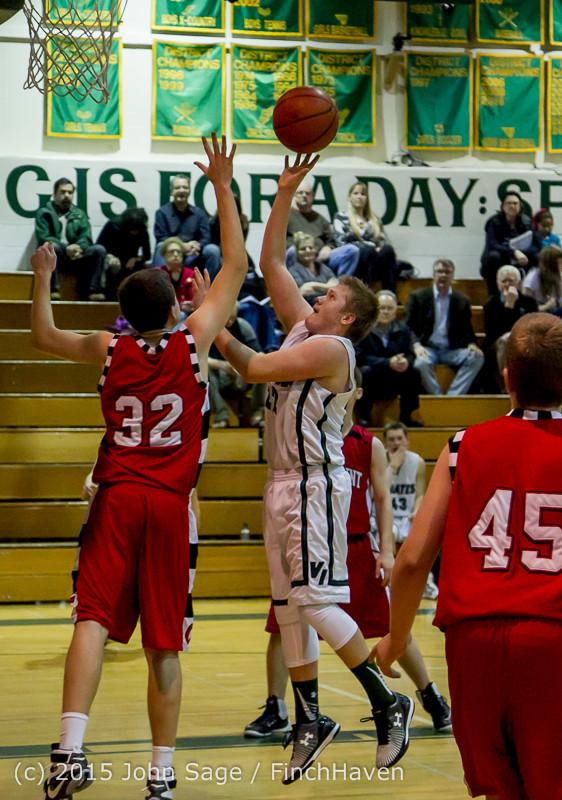 1523 Boys JV Basketball v Crosspoint 122115