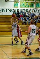 1564 Boys JV Basketball v Crosspoint 122115