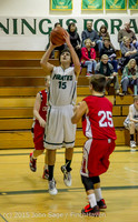 1589 Boys JV Basketball v Crosspoint 122115