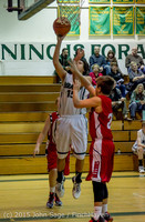 1590 Boys JV Basketball v Crosspoint 122115
