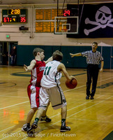 1663 Boys JV Basketball v Crosspoint 122115