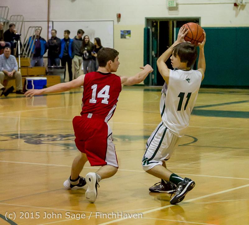 1674 Boys JV Basketball v Crosspoint 122115