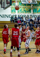 1700 Boys JV Basketball v Crosspoint 122115