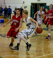 1704 Boys JV Basketball v Crosspoint 122115