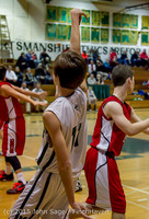 1716 Boys JV Basketball v Crosspoint 122115