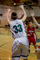 1729 Boys JV Basketball v Crosspoint 122115
