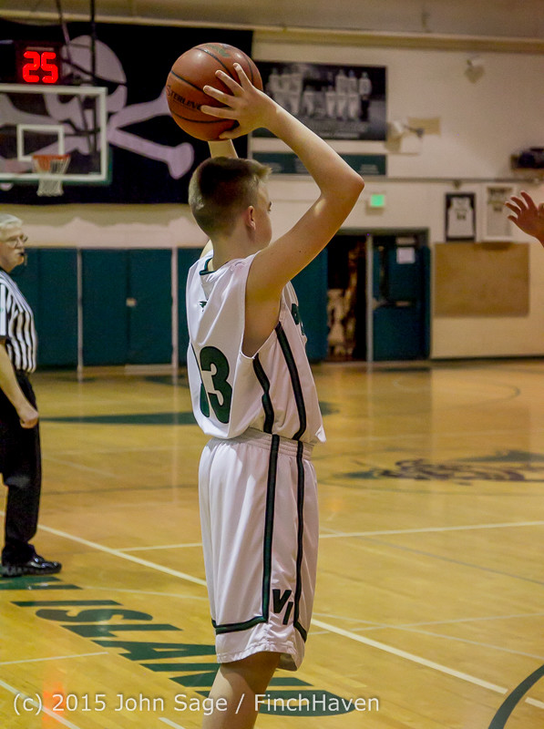 1738 Boys JV Basketball v Crosspoint 122115