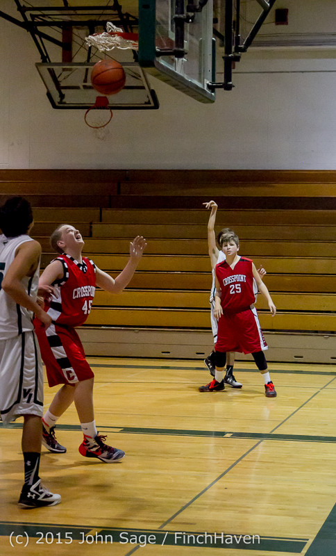 1784 Boys JV Basketball v Crosspoint 122115