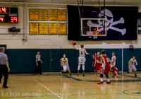 1791 Boys JV Basketball v Crosspoint 122115