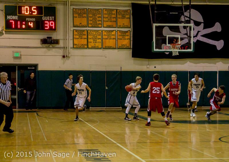 1798 Boys JV Basketball v Crosspoint 122115