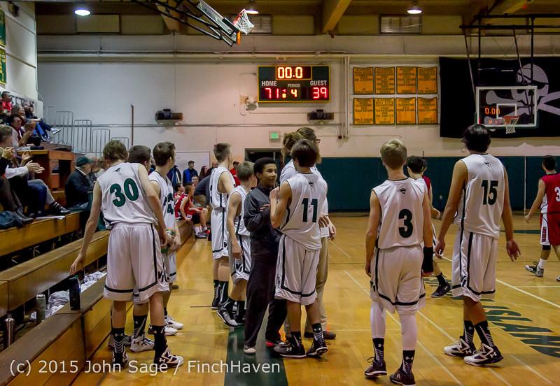 1804 Boys JV Basketball v Crosspoint 122115