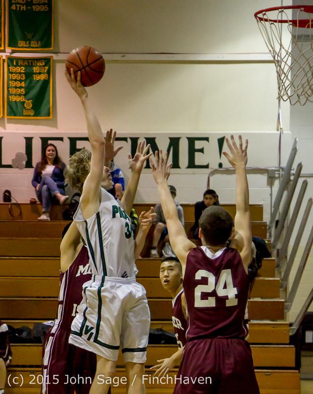 2276 Boys JV Basketball v Mercer-Isl 012516
