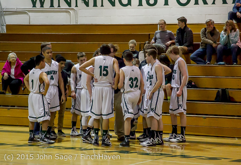 2340 Boys JV Basketball v Mercer-Isl 012516