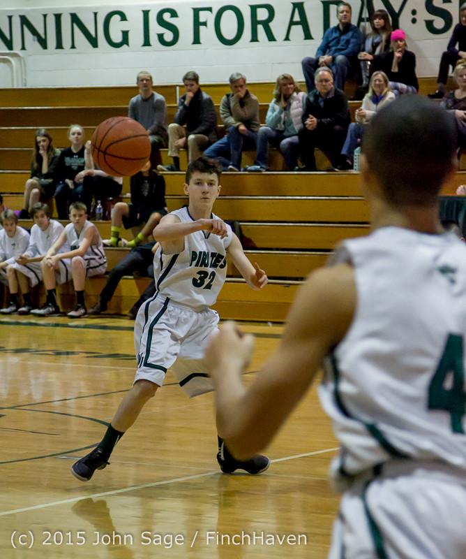 2344 Boys JV Basketball v Mercer-Isl 012516