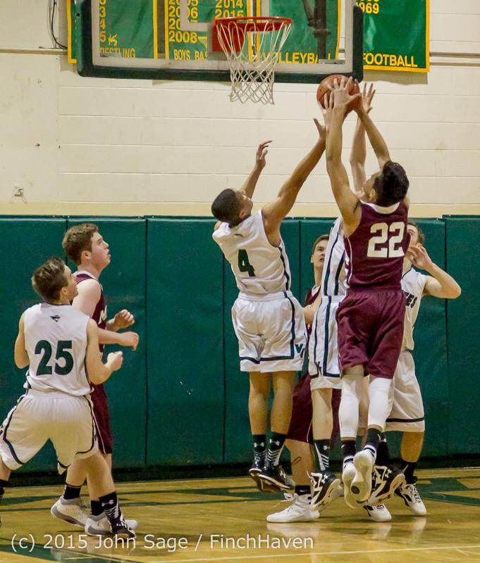 2368 Boys JV Basketball v Mercer-Isl 012516