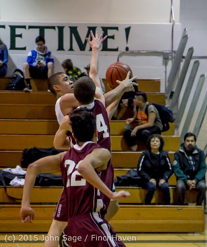 2377 Boys JV Basketball v Mercer-Isl 012516
